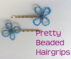 Beaded Hairgrips