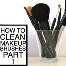 HOW TO: clean makeup brushes PART 1
