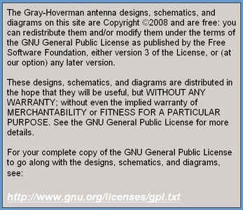Gray-Hoverman Antenna Information Links
