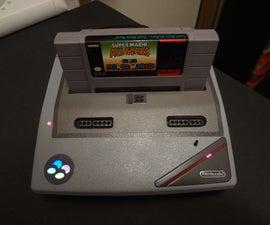 SNES Slim Custom Gaming Console.