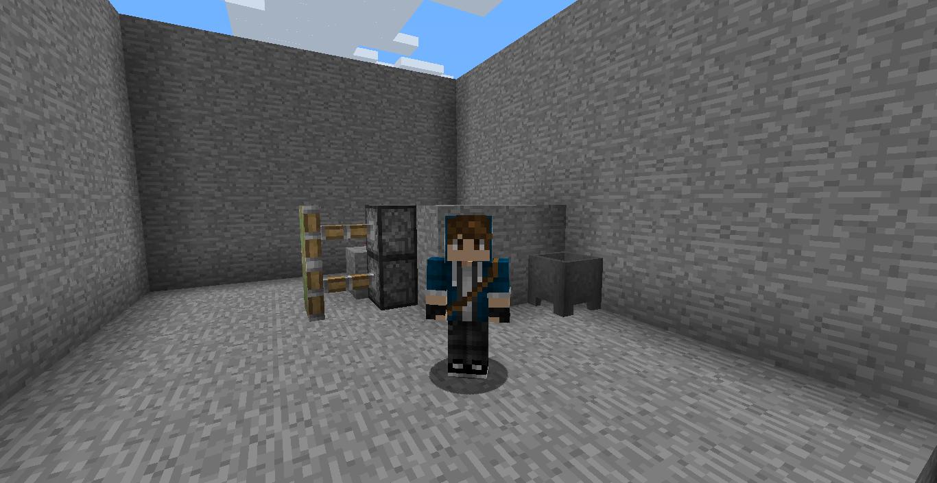 Picture of Secret Minecraft Door