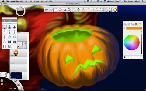 Draw a Spooky Jack-o-lantern