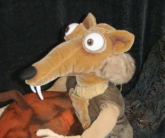 Ice Age Scrat and Acorn Costume