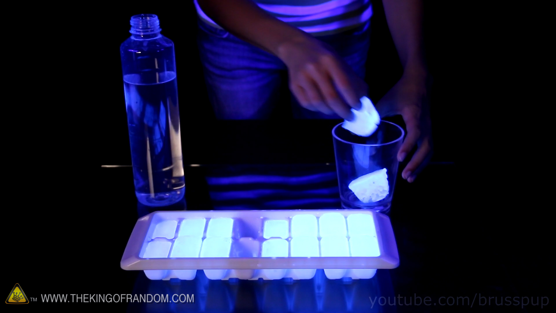 Picture of Glow in the Dark Ice Cubes - Brusspup