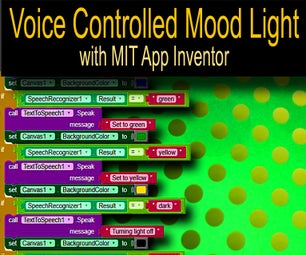 Voice Controlled Android Mood Light