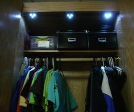 Door Activated LED Lighting using Hall Effect Sensors