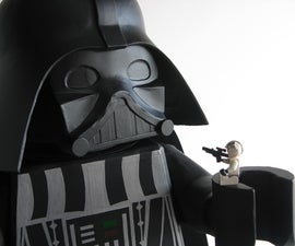 Giant Lego Darth Vader
