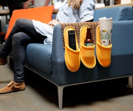IKEA HACK: couch caddy
