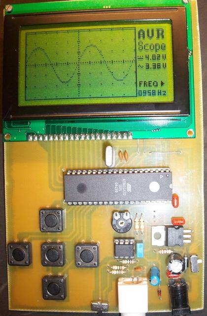 Low Speed AVR Oscilloscope V2 00 (Is Updated on 19 Mar 2011
