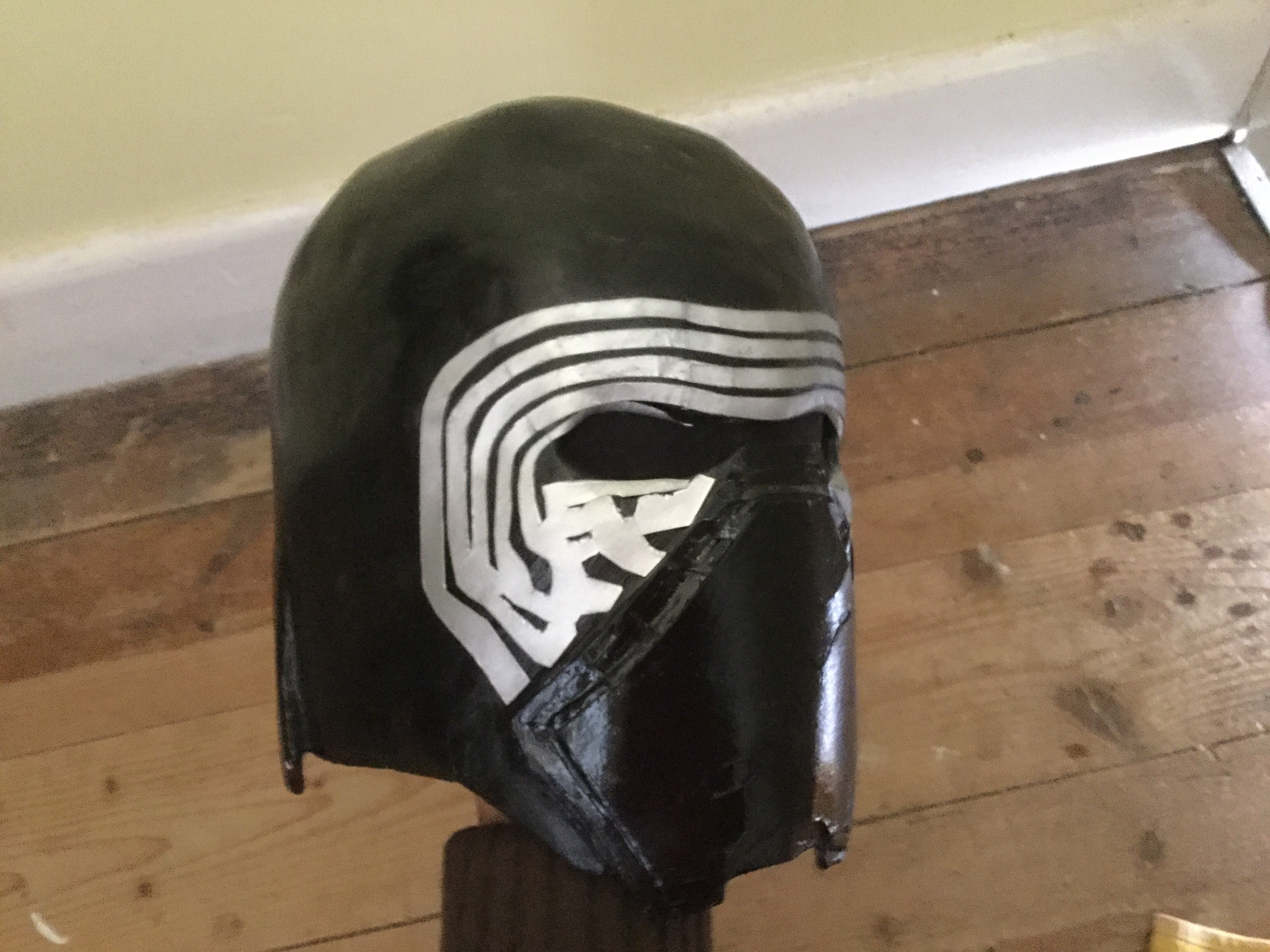 Picture of Kylo Ren Mask Tutorial