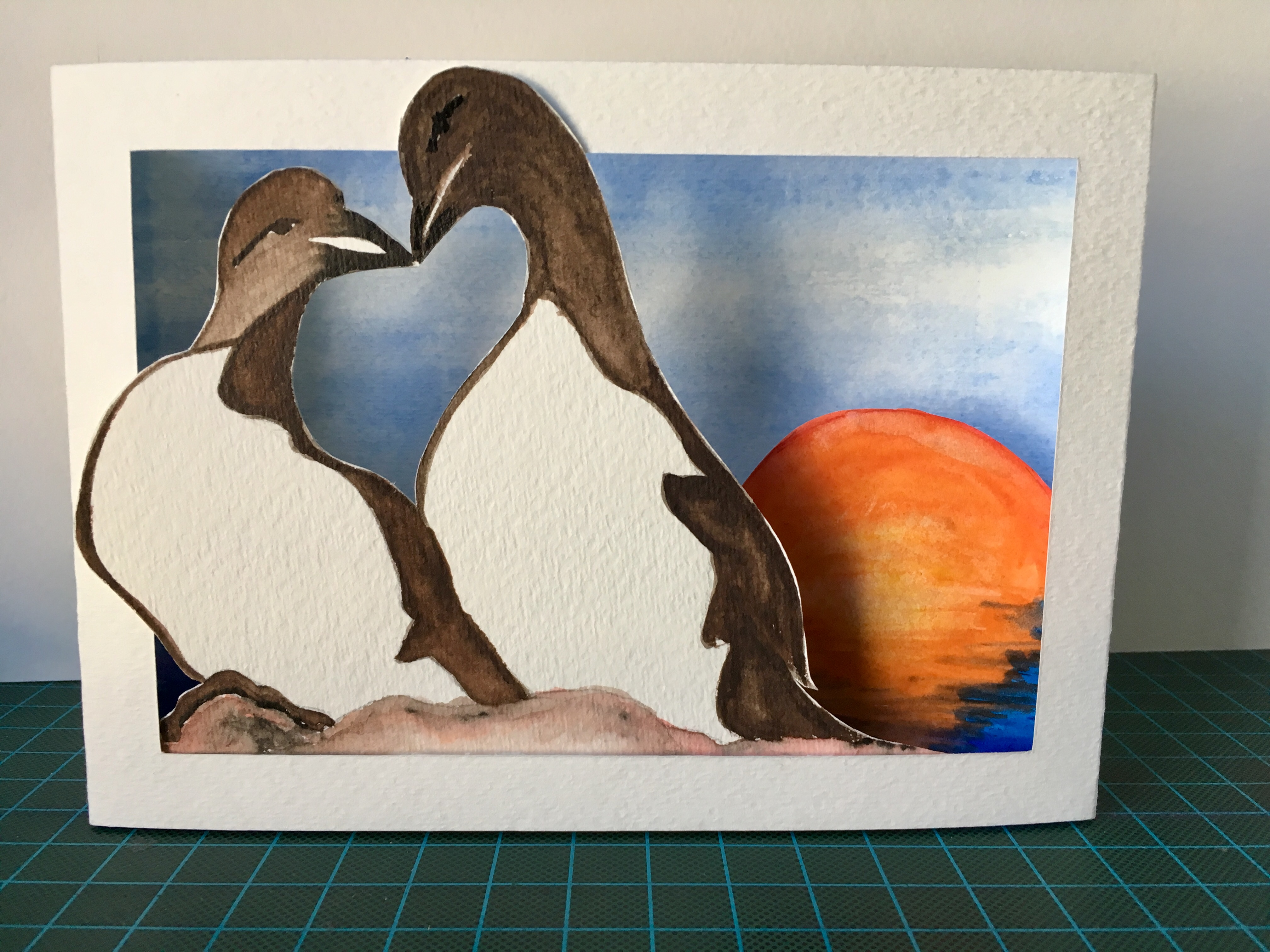 Picture of Tunnel Book Popup Card