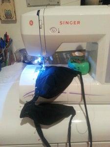 Sewing the Bikini Top