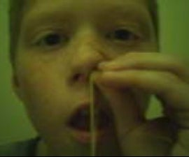 rubber band magic trick