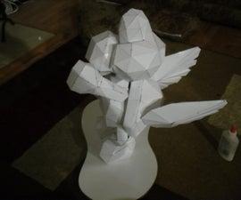 Making a Papercraft (lifesize?) Koopa Troopa