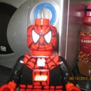 oversized lego spiderman