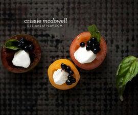 Caprese Bites with Balsamic Caviar