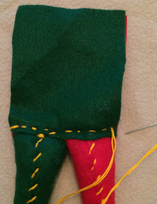 Picture of Attach the Other Leg to the Body