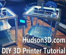 DIY 3D Printer Build Video Tutorial
