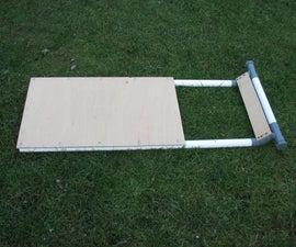 Steerable Plumbing Tube Sledge (sled)