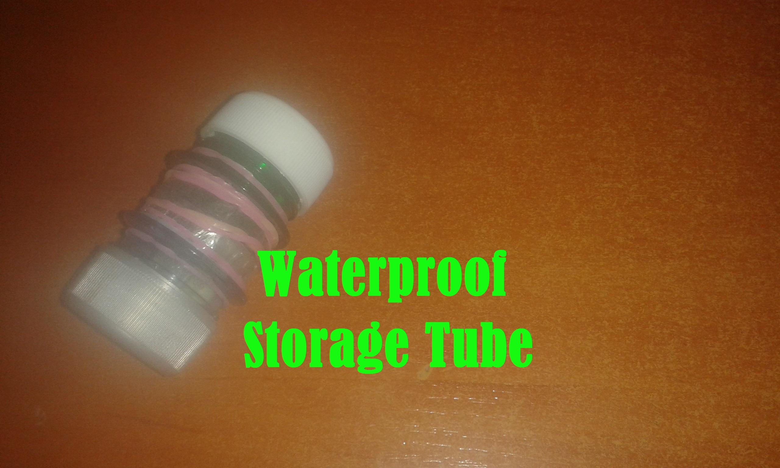 Picture of DIY Waterproof Storage Tube