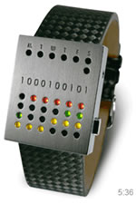 Picture of Unique watches almost impossible to read, but still so cool