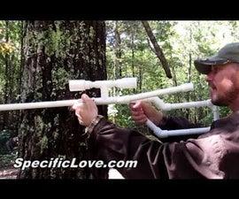Marshmallow Shooter Sniper Rifle PVC