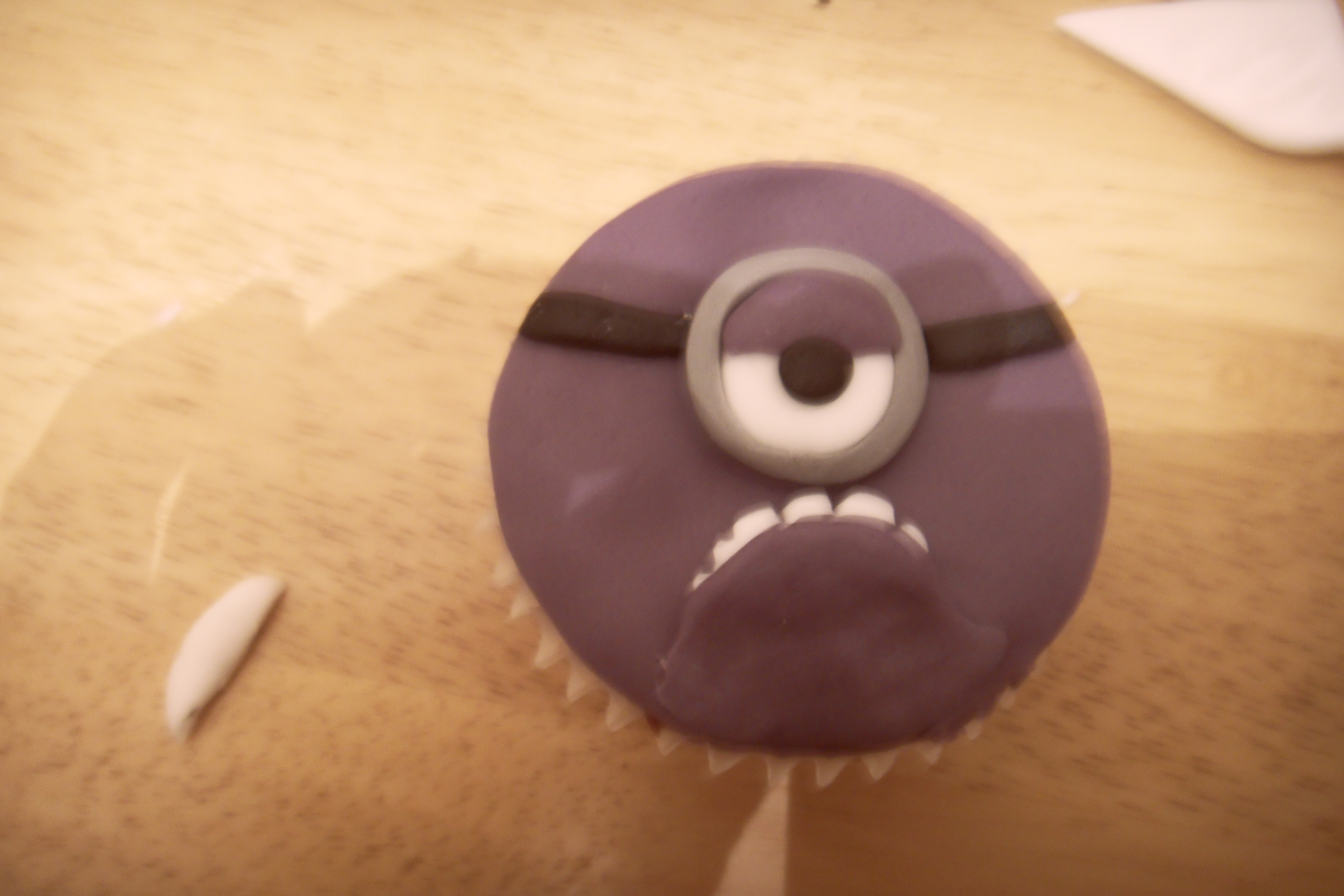 Picture of Purple Minion - Frown