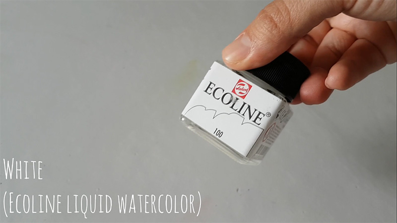 Picture of Watercolors Used