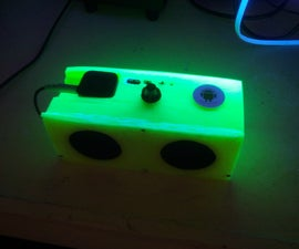 Print your own wireless portable speaker!