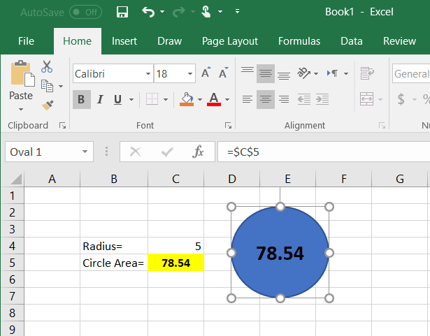 Picture of Create Dynamic Shapes in Excel With Variable Content
