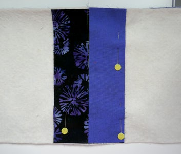 Use Quilt-As-You-Go Method to Join Pieces