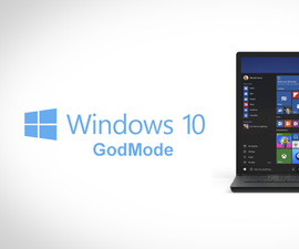 Activate GOD-Mode in Windows 10