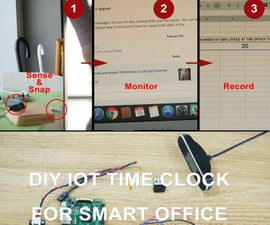 DIY IoT Time Clock for Smart Office