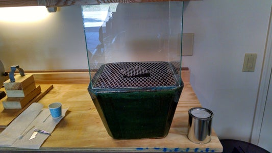 Attach the Glass Box to the Planter