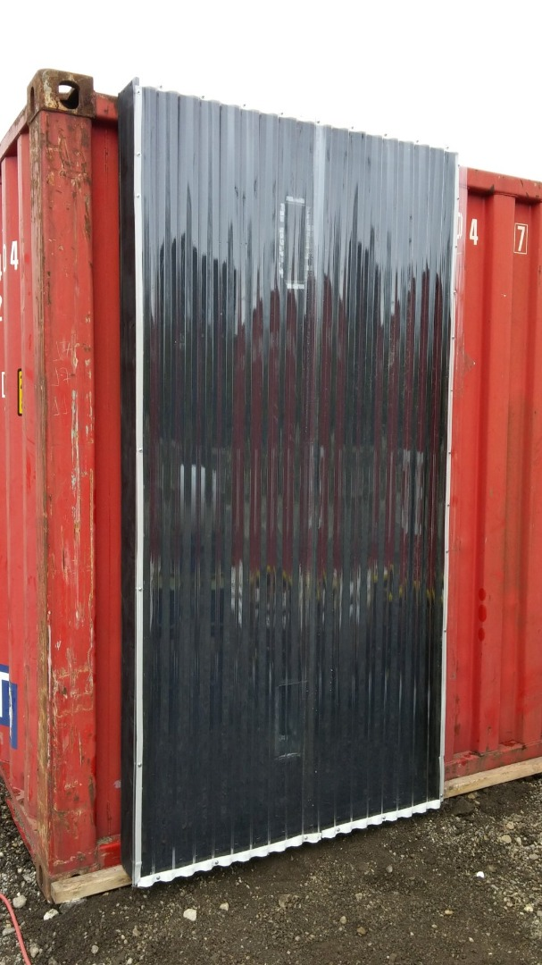 Picture of Solar Thermal Air Heater (on a Shipping Container)