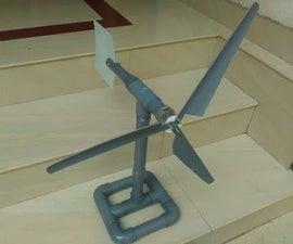 How to make Small wind turbine homemade