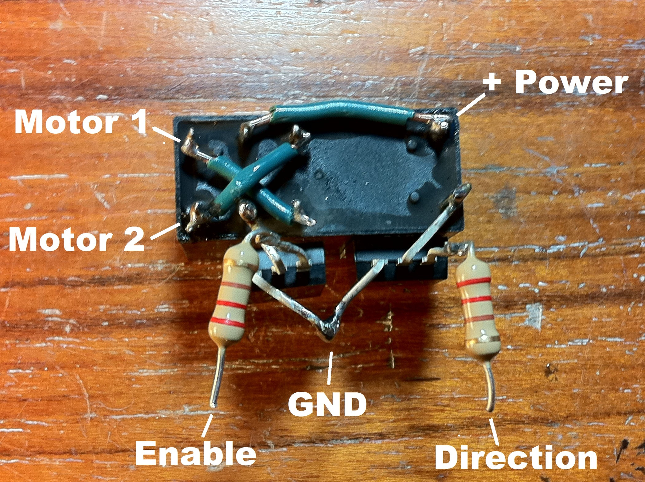 Easy Reversible Motor Control For Arduino Or Any Microcontroller Gif Black Dpdt Double Pole Throw Rocker Switch Http Tncscooters 14 Steps With Pictures