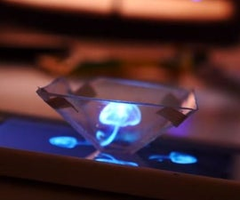 Smartphone Hologram