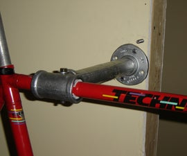 hyper strong wall mounted bicycle repair stand