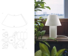 BASIC LAMP (Customizable, Sustainable Paper Table Lamp)