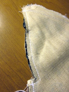 Sewing Lining to Outer Fabric