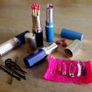 Upcycling Old Lipstick Tubes