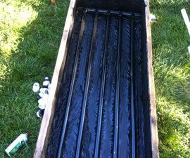 Solar Thermosiphoning Hot Tub Heater