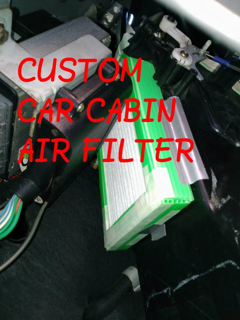 Picture of Custom Car Cabin Air Filter