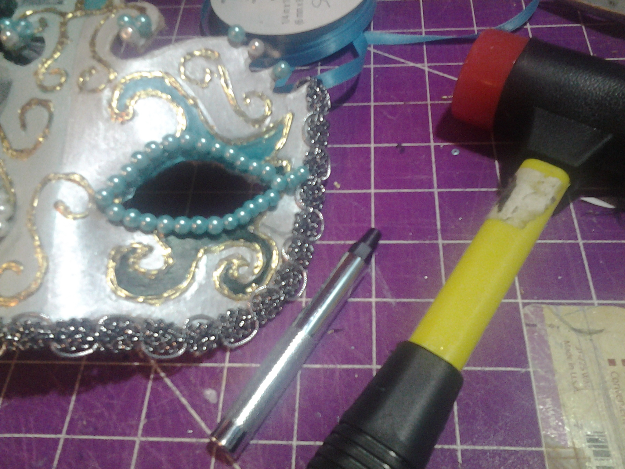 Picture of Finishing the Mask