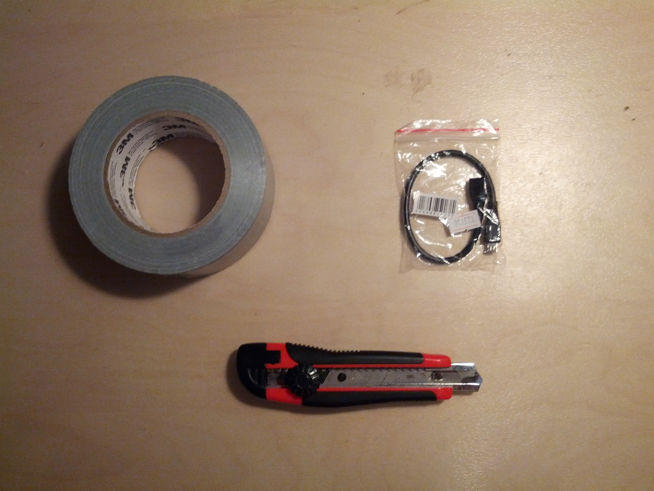 Picture of Shopping List and Tools