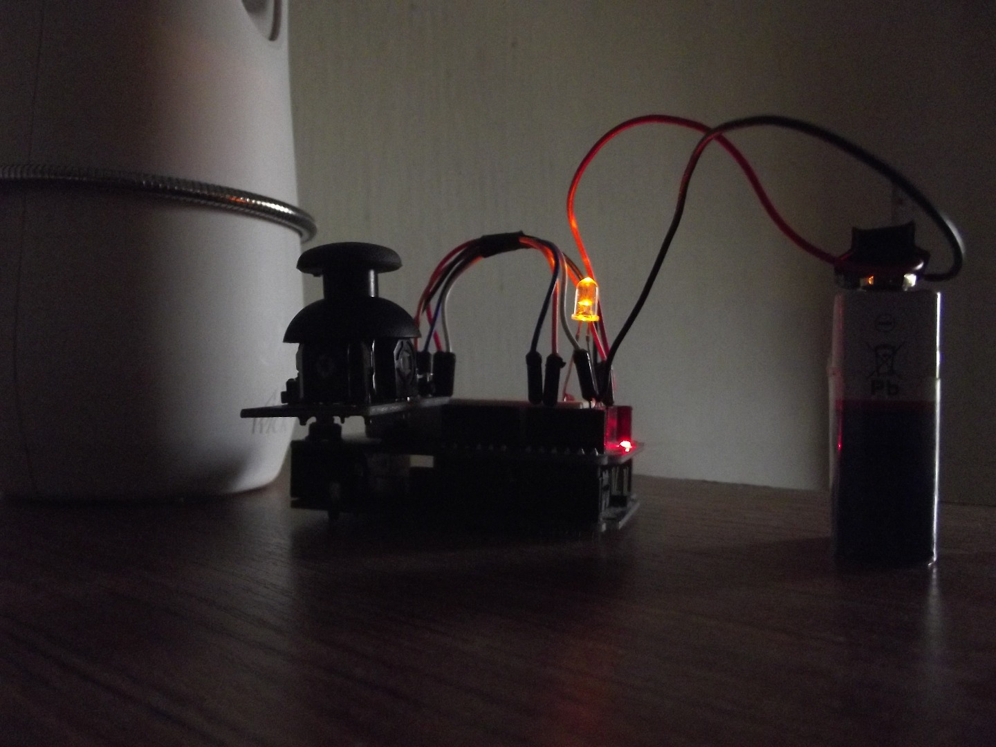 Picture of INTRODUCTION TO I/O's IN ARDUINO (JOYSTICK)