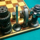 Automotive Chess Set: Valves