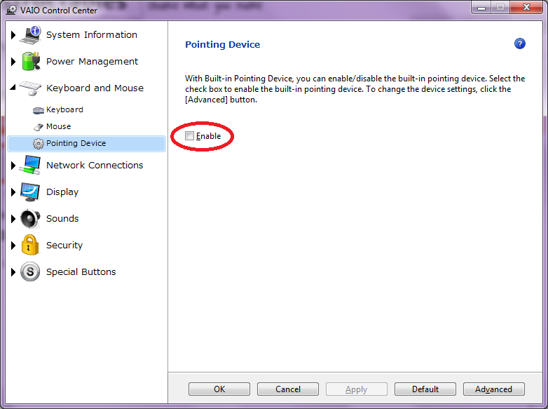 Picture of Restart Your Laptop and Observe the Checkbox