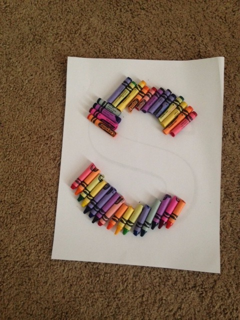 Picture of Glue Down Crayons